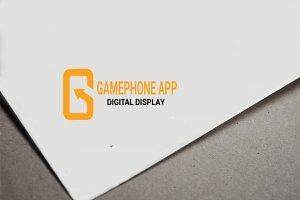 Gamephone App Logo - Letter G