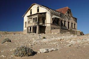 Ruin in Kolmanskop