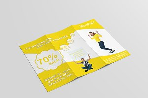 IdeaShop Tri-Fold Shopping Brochure