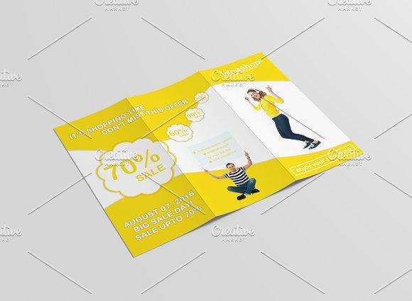 IdeaShop Tri-Fold Shopping Brochure