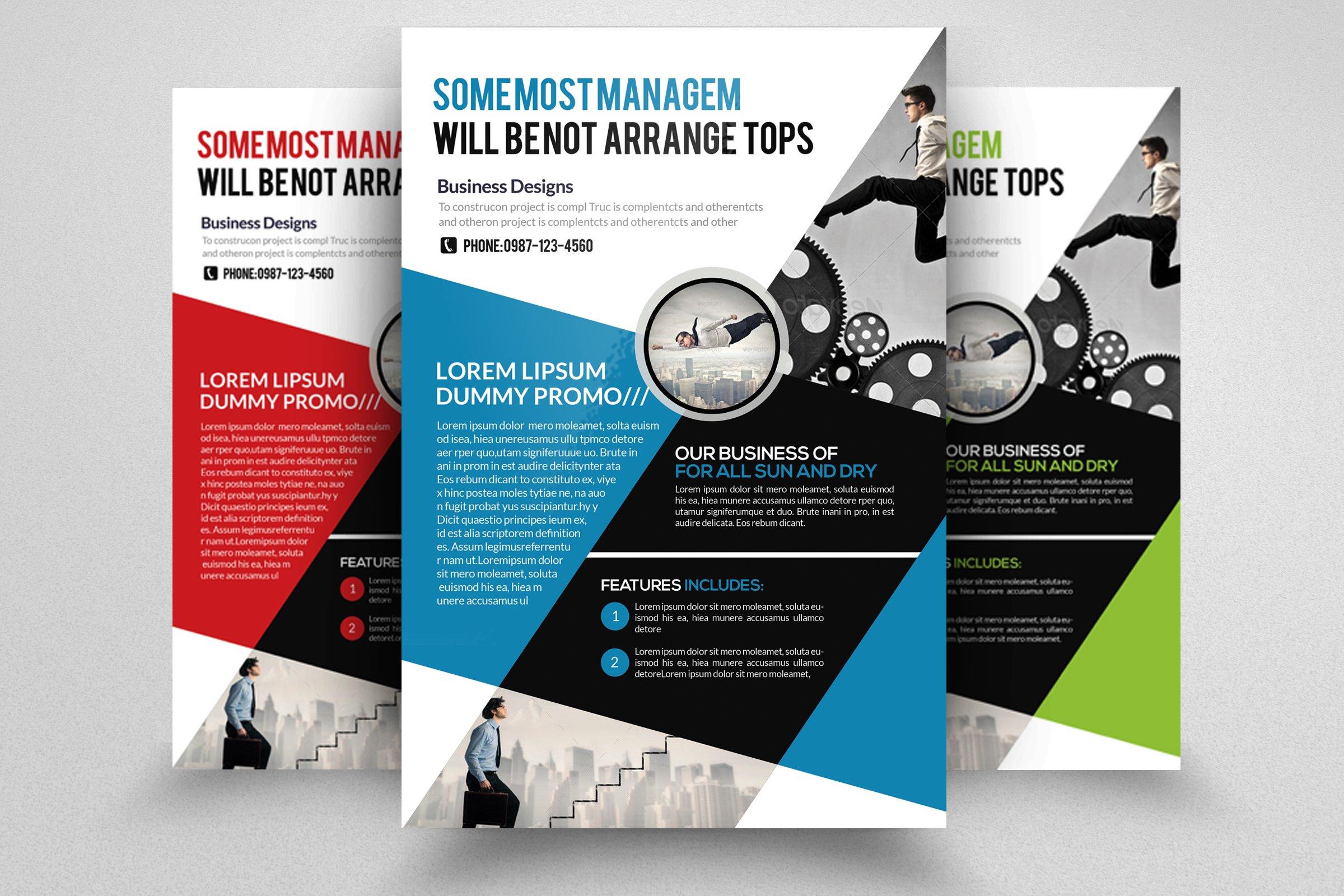 Marketing Strategy Business Flyer ~ Flyer Templates ...