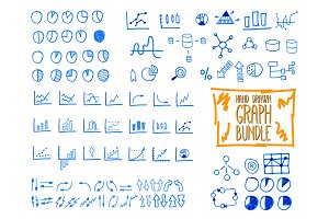 Hand Drawn Icons & Elements Set