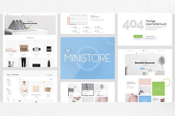 Ministore - WooCommerce theme