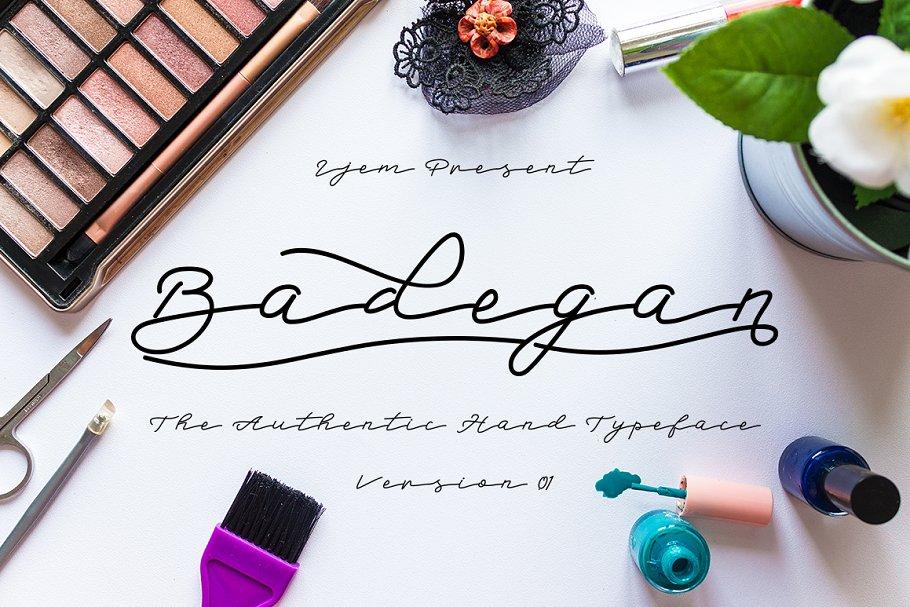 Badegan Script