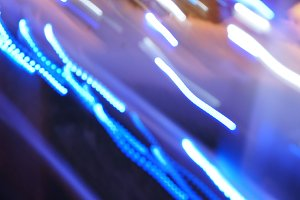 Abstract Blue Light 1
