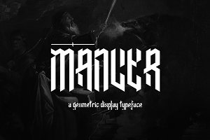 Mancer Typeface