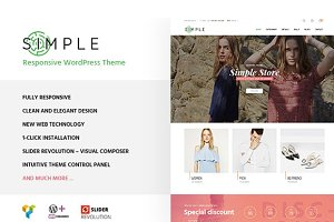 Simple Store WordPress Theme