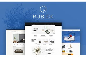 WordPress eCommerce Themes: Opal Wordpress Theme - Rubick WooCommerce WordPress Theme