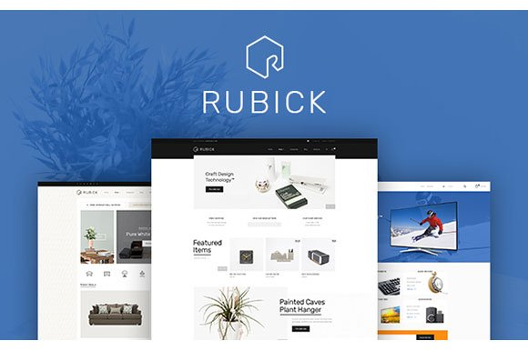 Rubick WooCommerce WordPress Theme ~ WordPress Commerce Themes ...