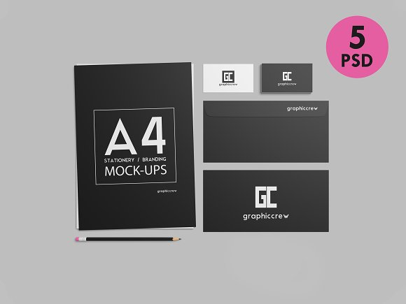 Download Stationery / Branding Mockups