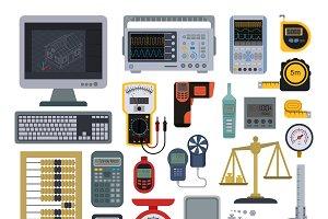Measurement tools vector