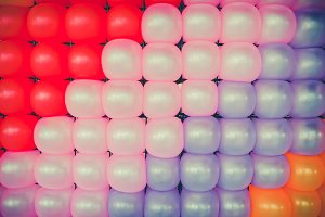 Colorful balloon background wallpape