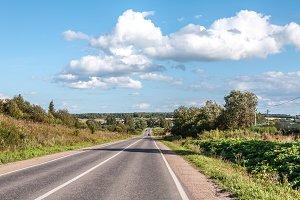 road in rural areas