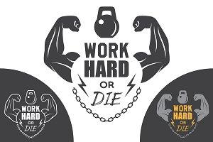 Fitness emblem