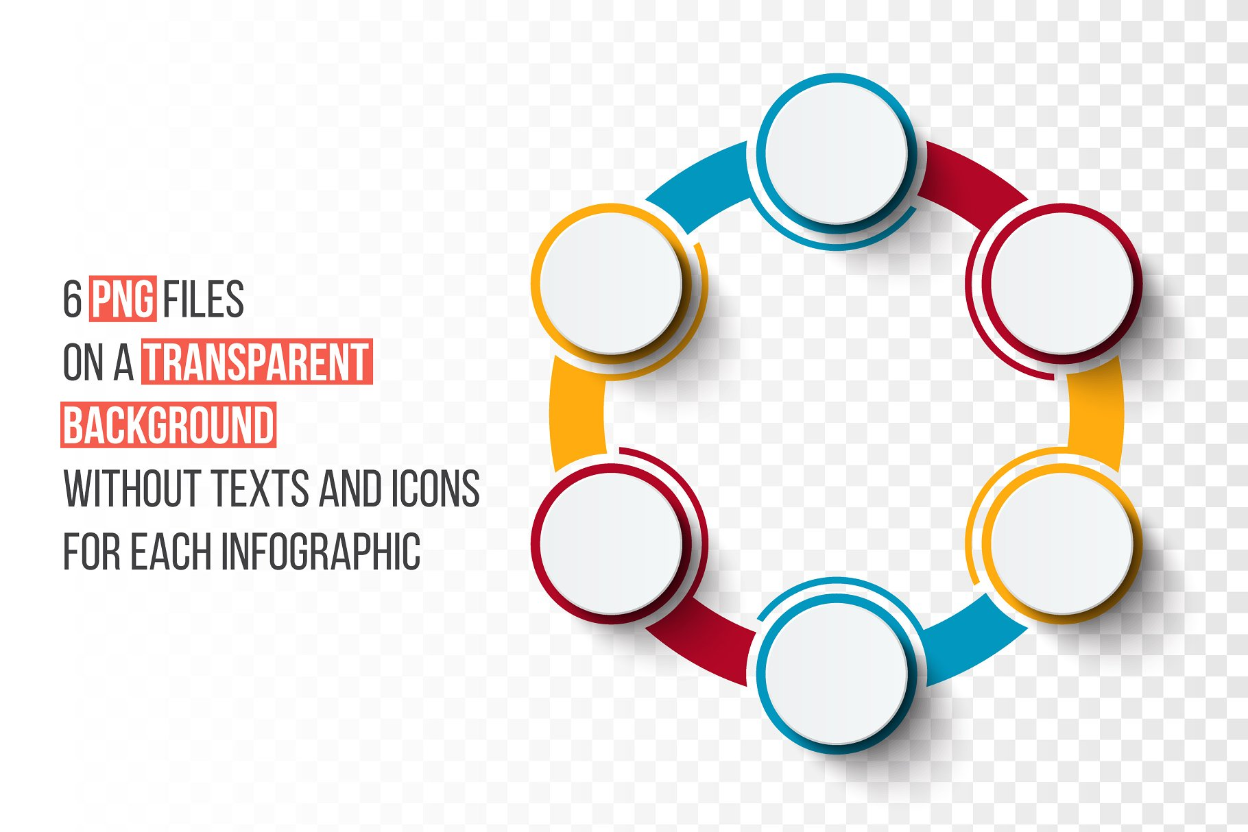 Infographics Template Set V39 Presentation Templates Creative