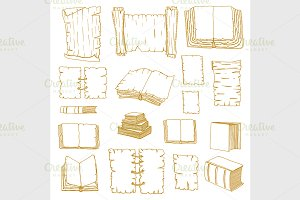 Big Set Books manuscripts