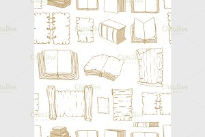 Seamless Big Set Books manuscripts