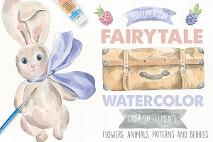 Fairytale Watercolor Collection