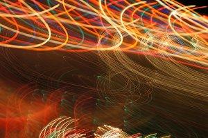 Abstract Neon Light 8