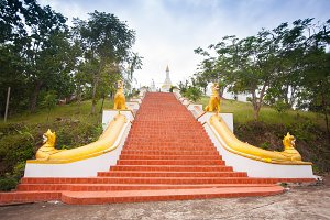 Temple in Mae Hon Song, Thailand