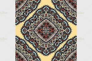 eastern pattern of mandalas
