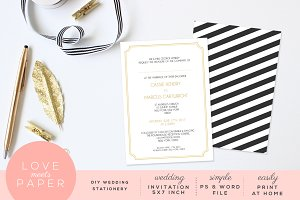 Wedding Invite Template I1001