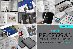 Proposal Template Bundle vol. 01