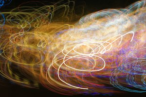 Abstract Neon Light 24