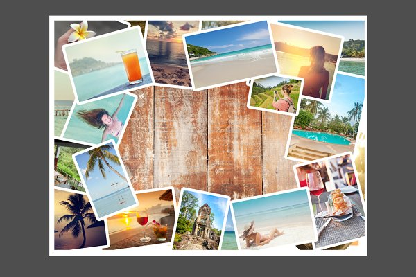Travel Collage High Quality Holiday Stock Photos Creative Market