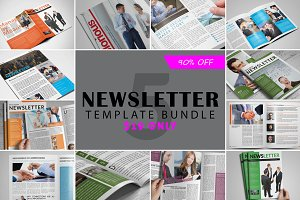 Newsletter Template Bundle vol. 01