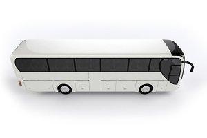 Blank City Bus Background