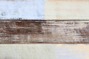 pastel wood planks