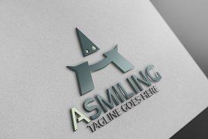 A Smiling Logo