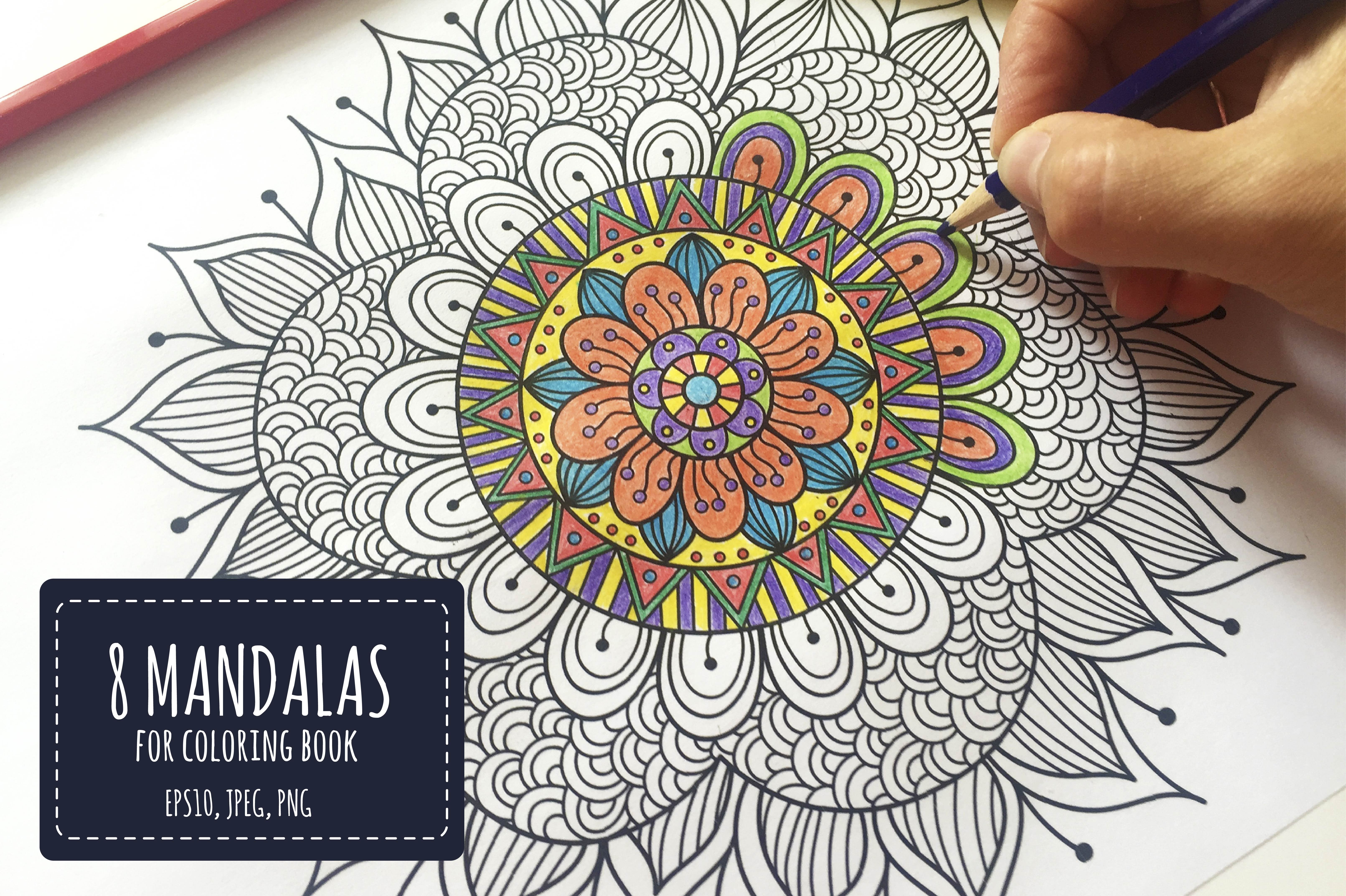 Mandalas Collection Graphics Creative Market