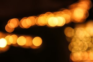 Abstract Gold Light 5