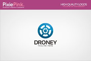 Droney Logo Template