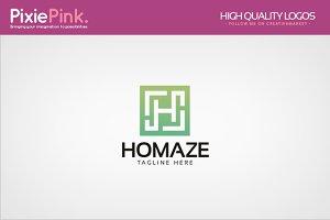 Homaze Logo Template