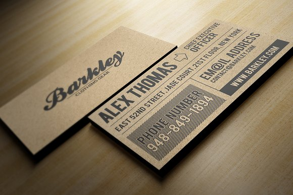 Kraft paper business cards bundle business card templates kraft paper business cards bundle business card templates creative market reheart Image collections