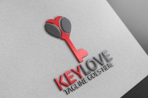 Key Heart Logo