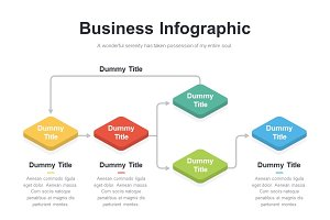 (PPT, AI) Infographic Diagram 036