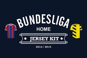 Bundesliga Home Jersey 2014
