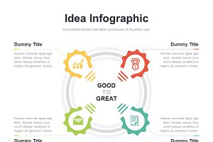 (PPT, AI) Infographic Diagram 033