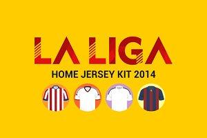 La Liga Home Jersey 2014