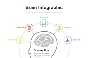 (PPT, AI) Infographic Diagram 029