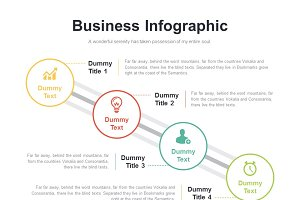 (PPT, AI) Infographic Diagram 025
