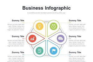 (PPT, AI) Infographic Diagram 021