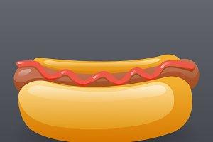 Realistic Hotdog