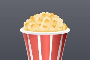Realistic Popcorn