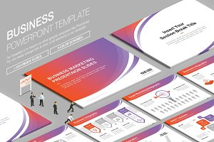 Business Powerpoint Template vol.1