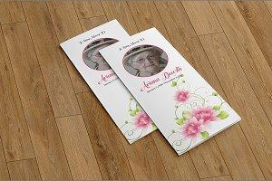 Funeral Program Template-V572